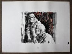 Hans van Norden (1915-2011) Watercolour - 1985 Hans van Norden (1915-2011) Vízfesték 1985 -Mihály Gyűjtemény