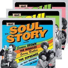 Bate-Boca & Musical: VA - The Soul Story (2007) 10CDs