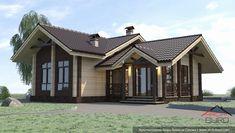 Баня из клеёного бруса, фото Design Case, Gazebo, House Plans, Shed, Outdoor Structures, House Design, Cabin, House Styles, Home Decor