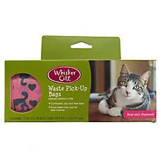 Whisker City Tear N Go Waste Pick Up Bags Whiskers Pet Spray Kitty