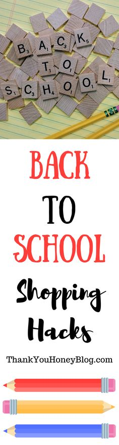 Check out these Back to School Shopping Hacks everything you need without all the stress and drama.  Back to School Shopping, Back to School. Back 2 School, BTS, School, School Supplies, School Clothes, Shopping, Back to School Shopping Hacks, Follow ThankYouHoneyBlog.com for more tips!