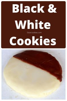 Black and White Cookies are the best cookies from New York. They are like cake cookies. They are for all busy people who don't have much time but enjoy cookies. Yes, if you are part of busy life and food these are your cookies. Black and white cookies full of flavors from New York. #cookies #newyork #blackandwhite Black And White Cookies, Cookies And Cream, Homemade Chocolate, Chocolate Desserts, Cake Cookies, Cookies Et Biscuits, New York Cookies, Sour Cream Frosting, Kinds Of Pie