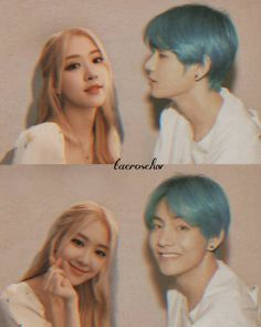 Taehyung, Jungkook V, Ulzzang Couple, Ulzzang Girl, Bts Girl, Kpop Couples, Second Love, Blackpink And Bts, Park Chaeyoung