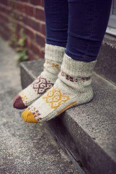 Autumn wool socks!
