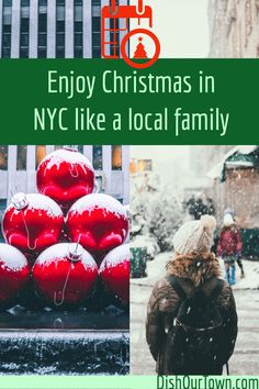 Enjoy Christmas in NYC like a local family – My Favorite New York Christmas, Christmas Travel, Holiday Travel, Christmas Markets, Family Christmas, Merry Christmas, Usa Travel Guide, Travel Usa, Travel Tips