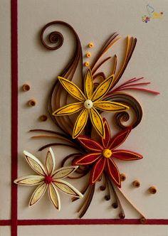 Neli Quilling Art: Quilling cards - fantasy