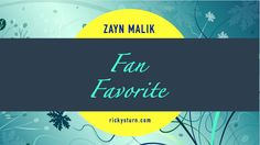 ZAYN Malik | Fan Favorite. A Solo Board for one of the hottest Male Celebrities in the world (and in the whole of Pinterestdom!), ZAYN Malik. As everyone knows, ZAYN was a member of the phenomenal One Direction, and has since gone Solo with much success. ZAYN is a Popstar, Fashion Icon and Young Designer collaborating with the House of Versace, among others. Supermodel Gigi Hadid also just happens to be his main squeeze. Enjoy the very best ZAYN Pins here at Ricky's Turn!
