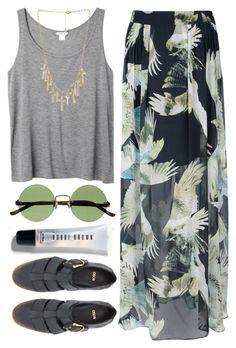 """Sin título #140"" by maartinavg ❤ liked on Polyvore featuring The Row, Bobbi Brown Cosmetics, Lala Berlin, ASOS, Monki and Crafted"