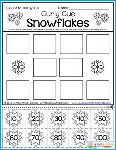Kindergarten math Counting worksheets Count to 100 by 10s Number order Counting to 100 Winter worksheets Cut and glue worksheets Please check out my AWESOME 50 page set of Winter Counting Worksheets for Kindergarten! Counting Worksheets For Kindergarten, Number Worksheets, Tracing Worksheets, Kindergarten Math, Polar Bear Color, Print Awareness, Counting To 20, Ordering Numbers, Ten Frames