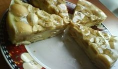 Nepečený dort z pudinku a piškotů No Bake Desserts, Ale, Waffles, Breakfast, Sweet, Food, Morning Coffee, Candy, Ales