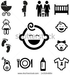 Find Baby Icons stock images in HD and millions of other royalty-free stock photos, illustrations and vectors in the Shutterstock collection. Baby Silhouette, Baby Icon, Baby Design, Royalty Free Stock Photos, Design Inspiration, Garden Images, Icons, Christmas Games, Quilting