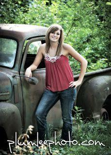"Plumlee's Senior Portrait Planning Guide: ""Rusty O. Truck"""