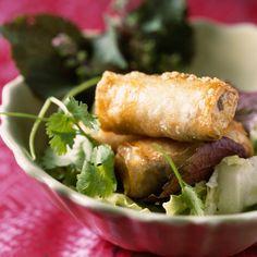 Découvrez la recette nems au porc sur Cuisine-actuelle.fr.