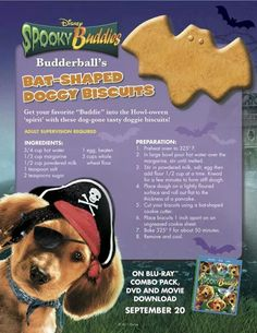 Bet shaped doggie biscuits