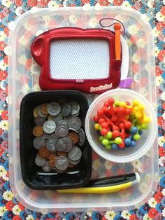 Literacy & Math Ideas: Make Learning Center Bento Boxes!  Click the image for illustrated ideas.