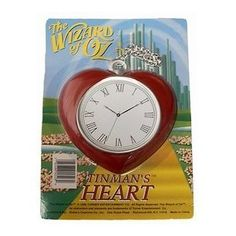 Wizard of Oz Tin Man Heart Clock Costume Accessory The Heart Of Man, Man Heart, Childhood Movies, Ruby Slippers, Tin Man, Yellow Brick Road, Halloween 2013, Wicked Witch, Wizard Of Oz