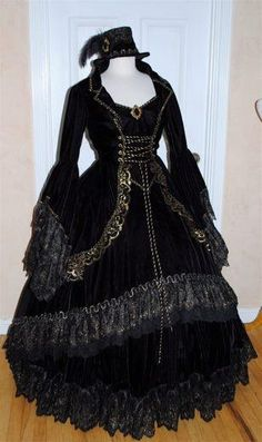 I found 'Sneak Peek....Gothic Victorian 5 Piece Set' on Wish, check it out!