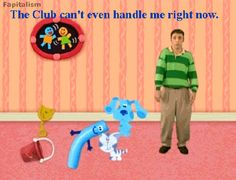 the club can't even handle me right now
