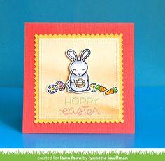 Netter's Notables: Lawn Fawn Inspiration Week-Hoppy Easter