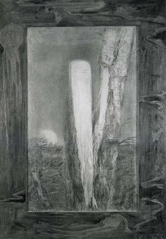 František Bílek Matko! 1899 kresba karton Austria, Art Nouveau, Villa, Museum, Artists, Fine Art, Sculpture, Drawings, Artwork