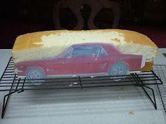 How to make a 3d car cake