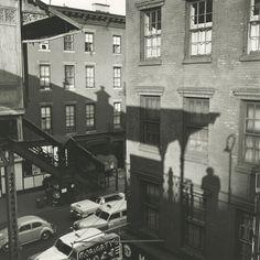 Vivian Maier. Self-portrait, New York, 1955