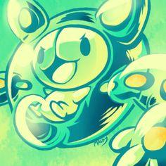 Reuniclus - Pokémon by Malky