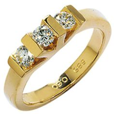 Dreambase Damen-Ring 3 Diamant-Brillanten 14 Karat (585) Gelbgold 0.60 ct. 50 (15.9) von Dreambase, http://www.amazon.de/dp/B00AWAKQ52/ref=cm_sw_r_pi_dp_dY-.qb0C12TPE
