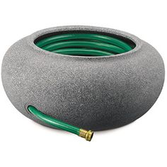 Akro Mils RZ.GH210G21 21 in Granite Garden Hose Pot & Planter. 3.7 lbs $40.97 walmart shipped by toolking.com