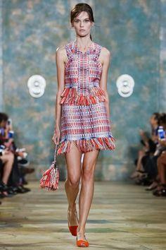 Look 6 - Tory Burch Ready To Wear Spring Summer 2016 New York - NOWFASHION