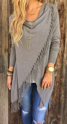 As Your Way Tassel Tops I like how this is put together with accessories etc...