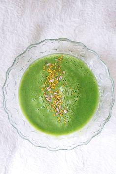 Zielona zupa imbirowa