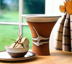 Classic Vase by Stephen Pearce Pottery, Shanagarry, Co. Irish Pottery, Pottery Shop, Earthenware, Cork, Planter Pots, Vase, Traditional, Classic, Handmade