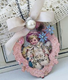 Crafty Secrets Heartwarming Vintage Ideas and Tips: Easy Christmas Ornaments, Fun New Samples, Challenge & CK Show Coupon for WA!