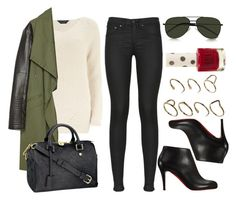 """Style #9731"" by vany-alvarado ❤ liked on Polyvore featuring rag & bone, Dorothy Perkins, Yves Saint Laurent, Zara, Christian Louboutin, Louis Vuitton, ASOS, Topshop, women's clothing and women's fashion"