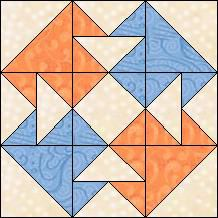 Quilt-Pro - Block of the Day- Tea for Four The Block of the Day is available to all quilters, regardless of whether you own our software programs.