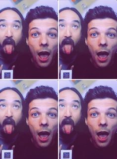 Lou and Uncle Steve days ago on the james corden show!!!