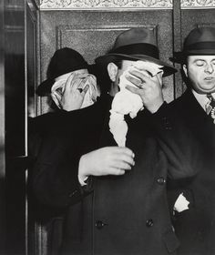 Arrested for bribing basketball players, 1942. - Weegee Collection - Photography - Amber Online