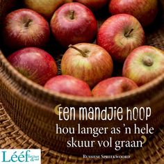 Afrikaans, Apple, Fruit, Wisdom, Food, Apple Fruit, Eten, Afrikaans Language, Meals