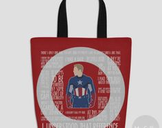 Captain America tote bag (Made to order)
