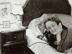 Marlene Dietrich calling her daughter in Berlin, Hollywood 1930, by Erich Salomon