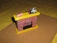 Fireplace was 6th piece I've ever made