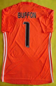 441d9be5a0f 5+/5 juventus 2017 #1 buffon original soccer football goalkeeper shirt  jersey