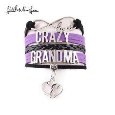 Funny Crazy Grandma, Crazy Momma and Crazy Aunt Bracelet