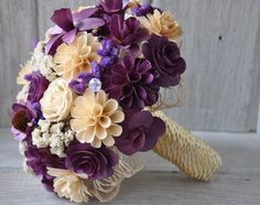 Wooden bouquet <3