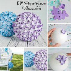 Paper Flower Pomander!