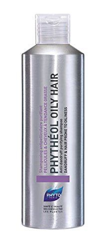 PHYTO Phytheol Oily Hair Purifying Scalp Exfoliating Shampoo, 6.7 fl. oz.