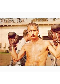"""Paul Newman in """"Cool Hand Luke"""", 1967 Upper Body Cardio, Paul Newman Joanne Woodward, Cool Hand Luke, Hollywood Boulevard, People Of Interest, Tough Guy, The Fault In Our Stars, Most Beautiful Man, Beautiful People"""