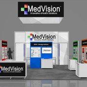 MEDV001 – 20×40 Trade Show Exhibit Rental