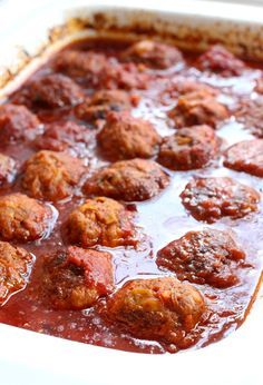 Slow Cooker Cabbage Roll Meatballs!!!! YUM!!! Soooo delicious! Taste just like a cabbage roll in meatball form & they simmer all day in an amazing sauce!!! COMFORT FOOD!!!B